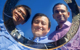 Three scientists who invented breakthrough cooling method