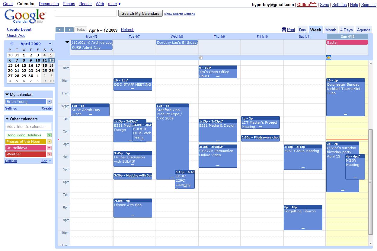 google agenda how to delete calendar