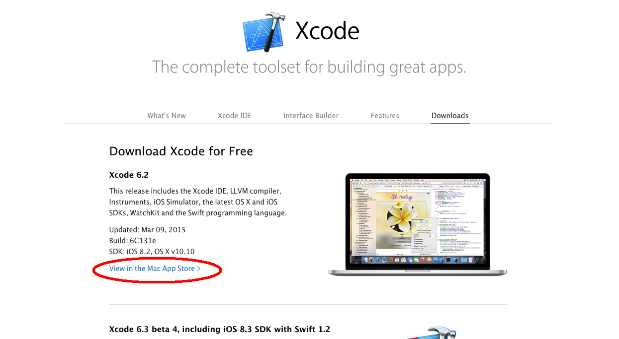 Step 1: Download Xcode