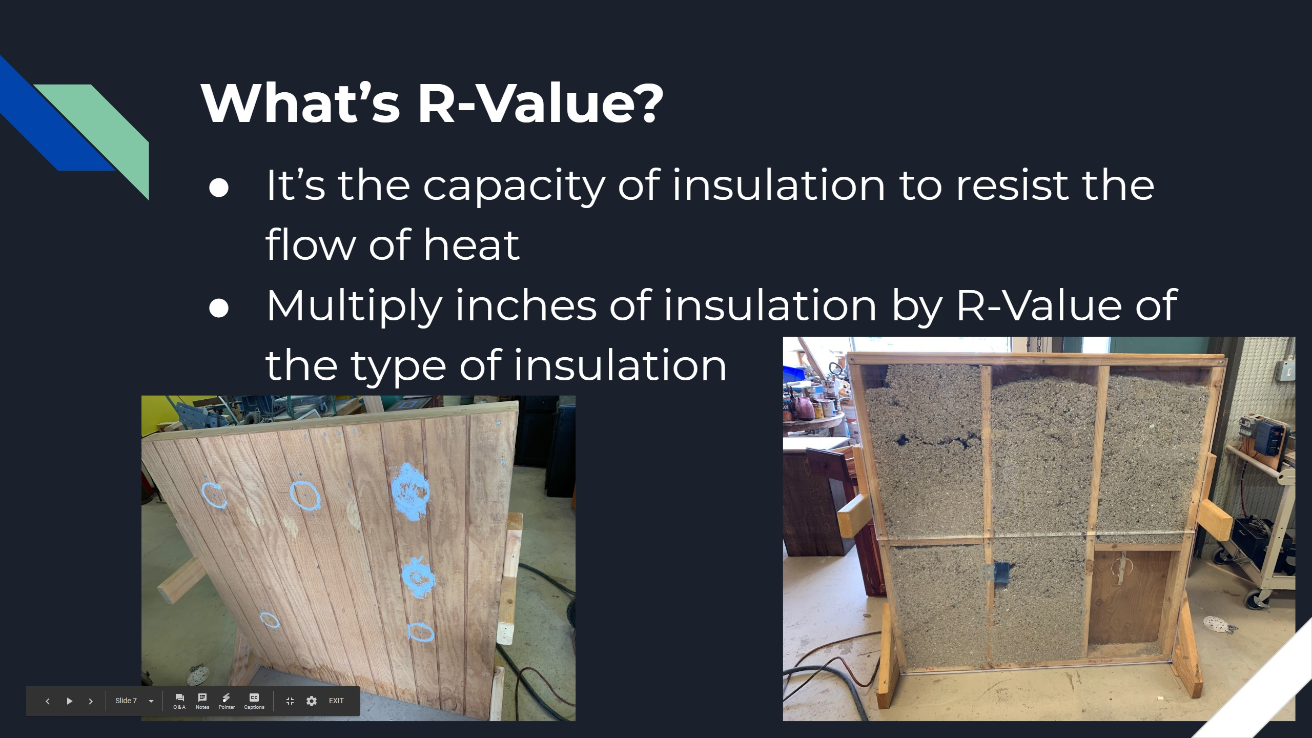 Wall Insulation Retrofit