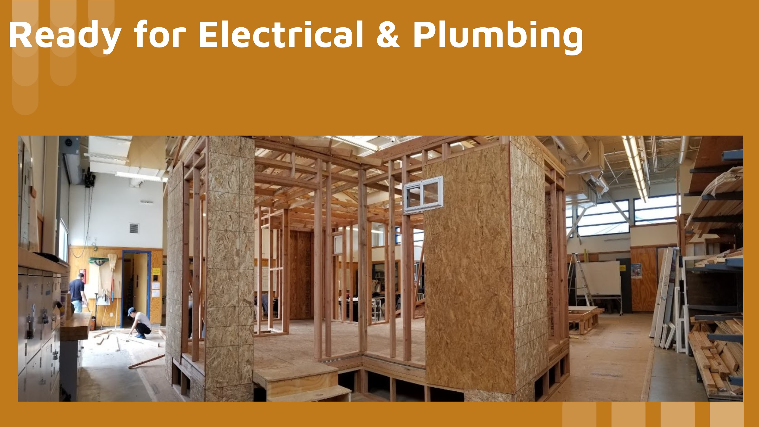 Residential and light commercial framing and MEP